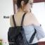 กระเป๋าเป้ผู้หญิง กระเป๋าสะพายหลังแฟชั่น Style ISSEY MIYAKE BAO BAO [สีดำ ] thumbnail 4