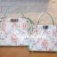 กระเป๋าสะพายแฟชั่น กระเป๋าสะพายข้างผู้หญิง Fendi หนังพิมพ์ลายดอกไม้ 10 นิ้ว [สีขาว] thumbnail 5