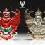 พญาครุฑเลื่อนสมณศักดิ์ หลวงพ่อวราห์ เนื้อเงินลงยาแดง thumbnail 3