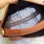 กระเป๋าสะพายแฟชั่น กระเป๋าสะพายข้างผู้หญิง กระเป๋าทรงตัวยู (อะไหล่เงิน) [สีส้ม] thumbnail 5