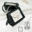 กระเป๋าสะพายกระเป๋าถือ แฟชั่นนำเข้างานเรียบหรูมากก... AX-12361-BLK (สีดำ) thumbnail 1
