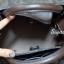กระเป๋าถือ กระเป๋าสะพายข้างแฟชั่น Boyy bag ลายโมโนแกรม [สีดำ ] thumbnail 6