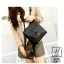 กระเป๋าเป้แฟชั่นนำเข้าดีไซน์สุดเท่ห์ BA909-BLK (สีดำ)
