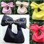 กระเป๋าครัช กระเป๋าถือ Big Bow [สีเหลือง] thumbnail 5