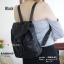กระเป๋าเป้ผู้หญิง กระเป๋าสะพายหลังแฟชั่น Style ISSEY MIYAKE BAO BAO [สีดำ ]