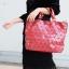 กระเป๋าสะพายแฟชั่น กระเป๋าสะพายข้างผู้หญิง Bao Bao Baral ทรงถัง [สีแดง ] thumbnail 1
