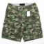 Light Green Camo Cargo Shorts for Men - size 34 thumbnail 1