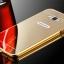 เคส A8 A8000 กรอบอลูมิเนียม+ฝาหลังอะคริลิค สะท้อน (สีทอง/เงิน/ดำ/ชมพู) thumbnail 2