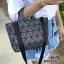 กระเป๋าสะพายแฟชั่น กระเป๋าสะพายข้างผู้หญิง สไตล์ baobao GLOW IN THE DARK [สีรุ้ง ]