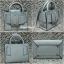 กระเป๋าสะพายแฟชั่น กระเป๋าสะพายข้างผู้หญิง Boyy bag (PU) [สีเทา] thumbnail 5