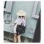 กระเป๋าผ้าแคนวาสนำเข้าดีไซน์สวยสไตล์แบรนด์ดัง MB-17035-BLK (สีดำ) thumbnail 4