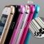 เคส iPhone 5/5s อลูมิเนียม+อะคริลิค ฝาหลัง (สีเงิน) thumbnail 3