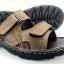 Leather sandals without backstrap (men) thumbnail 1