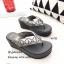 พร้อมส่ง รองเท้าแตะผู้หญิงสีเทา แบบคีบ BAOBAO Issey Miyake แฟชั่นเกาหลี [สีเทา ] thumbnail 5