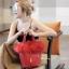 กระเป๋าสะพายแฟชั่น กระเป๋าสะพายข้างผู้หญิง Picotin เฟรอ [สีแดง] thumbnail 1
