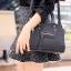 กระเป๋าสะพายแฟชั่น กระเป๋าสะพายข้างผู้หญิง สะพายข้าง NEW CELINE [สีดำ] thumbnail 1