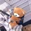 กระเป๋าเป้ตุ๊กตานำเข้าสไตส์ MOSCHINO PLUSH TEDDY BEAR BACKPACK Size L [สีดำ ] thumbnail 7
