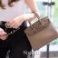 พร้อมส่ง กระเป๋าสะพายข้างผู้หญิง BK super 25 cm [สีกากี] thumbnail 2