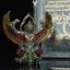 พญาครุฑ รุ่น เศรษฐีมหาเศรษฐี วัดครุฑ อยุธยา เนื้อทองขาวลงยาราชาวดี thumbnail 3