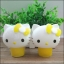MENGKOU Tendering Moisturizing hand cream kitty baby สีเหลือง thumbnail 1