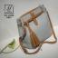 กระเป๋าสะพายกระเป๋าถือ แฟชั่นนำเข้าดีไซน์เรียบโก้ AX-12230-GRY (สีเทา) thumbnail 1