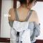 กระเป๋าเป้ผู้หญิง กระเป๋าสะพายหลังแฟชั่น Style ISSEY MIYAKE BAO BAO [สีขาว ] thumbnail 2