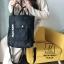 กระเป๋าสะพายเป้ เป้แฟชั่นงานนำเข้าสไตล์เกาหลี MB18-00501-BLK (สีดำ) thumbnail 1
