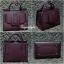 กระเป๋าสะพายแฟชั่น กระเป๋าสะพายข้างผู้หญิง Boyy bag (PU) [สีแดง] thumbnail 5
