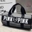 กระเป๋าแฟชั่นนำเข้า ด้านหน้าสกรีน PINK BAI-276-GRY (สีเทา) thumbnail 1