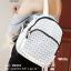 กระเป๋าเป้ผู้หญิง กระเป๋าสะพายหลังแฟชั่น BAO BAO [สีขาว ] thumbnail 1