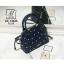 กระเป๋าสะพายกระเป๋าถือ แฟชั่นนำเข้าสไตล์คุณหนู AX-12363-BLU (สีน้ำเงิน) thumbnail 1