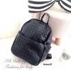กระเป๋าเป้ผู้หญิง กระเป๋าสะพายหลังแฟชั่น Issey Miyake Bao Bao [สีดำ ]