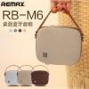 ลำโพง บลูทูธ Remax RB-M6 Bluetooth Speaker Portable Desktop