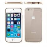 เคส iPhone6/6s ฝาหลังอลูมิเนียม สีทอง