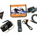 Android TV Box Quad Core 4.4.2 Q7 (ฟรีแอพดูหนัง+บอล พร้อมประกันศูนย์ 1ปี)
