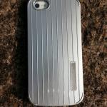 เคสฝาหลัง iPhone5/5s อลูมิเนียม ทรงอินเทรนด์ (สีเงิน)