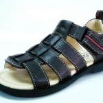 leather sandal with backstrap (kids)