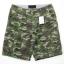 Light Green Camo Cargo Shorts for Men - size 36 thumbnail 3