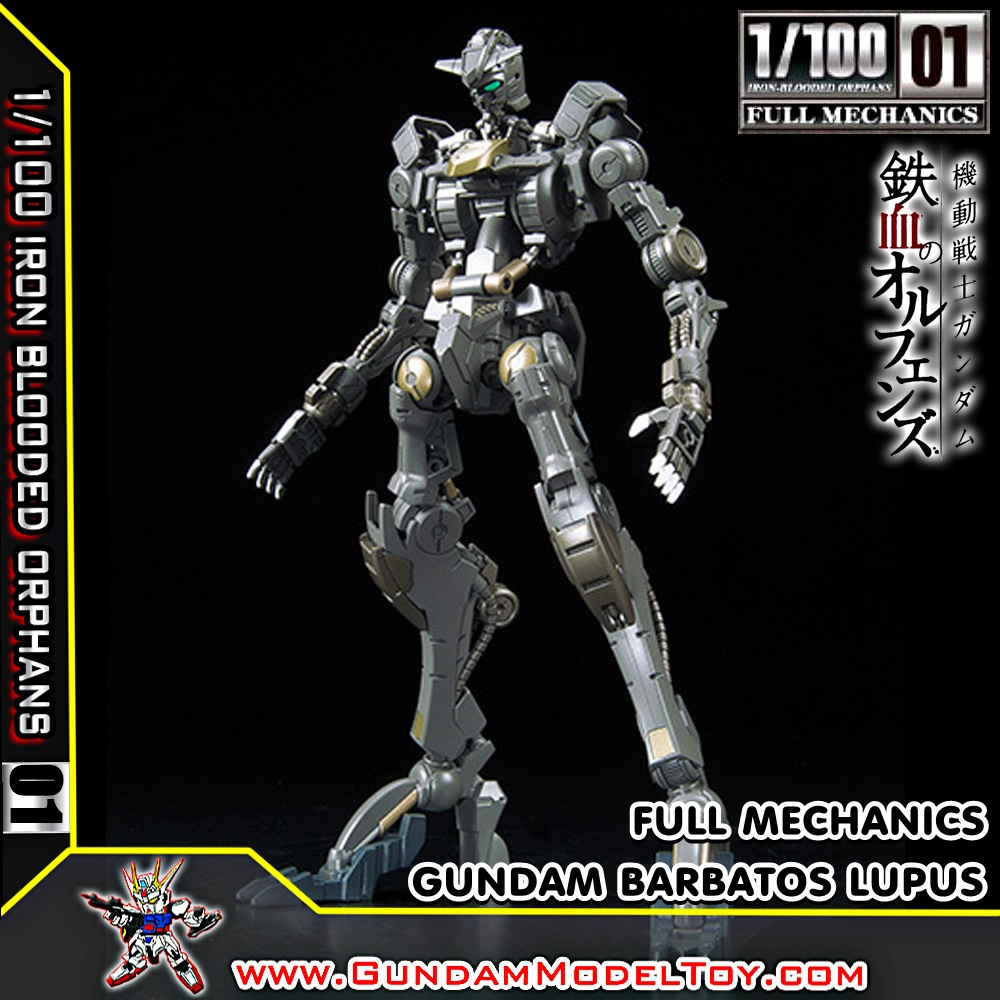 1/100 01 FULL MECHANICS GUNDAM BARBATOS LUPUS