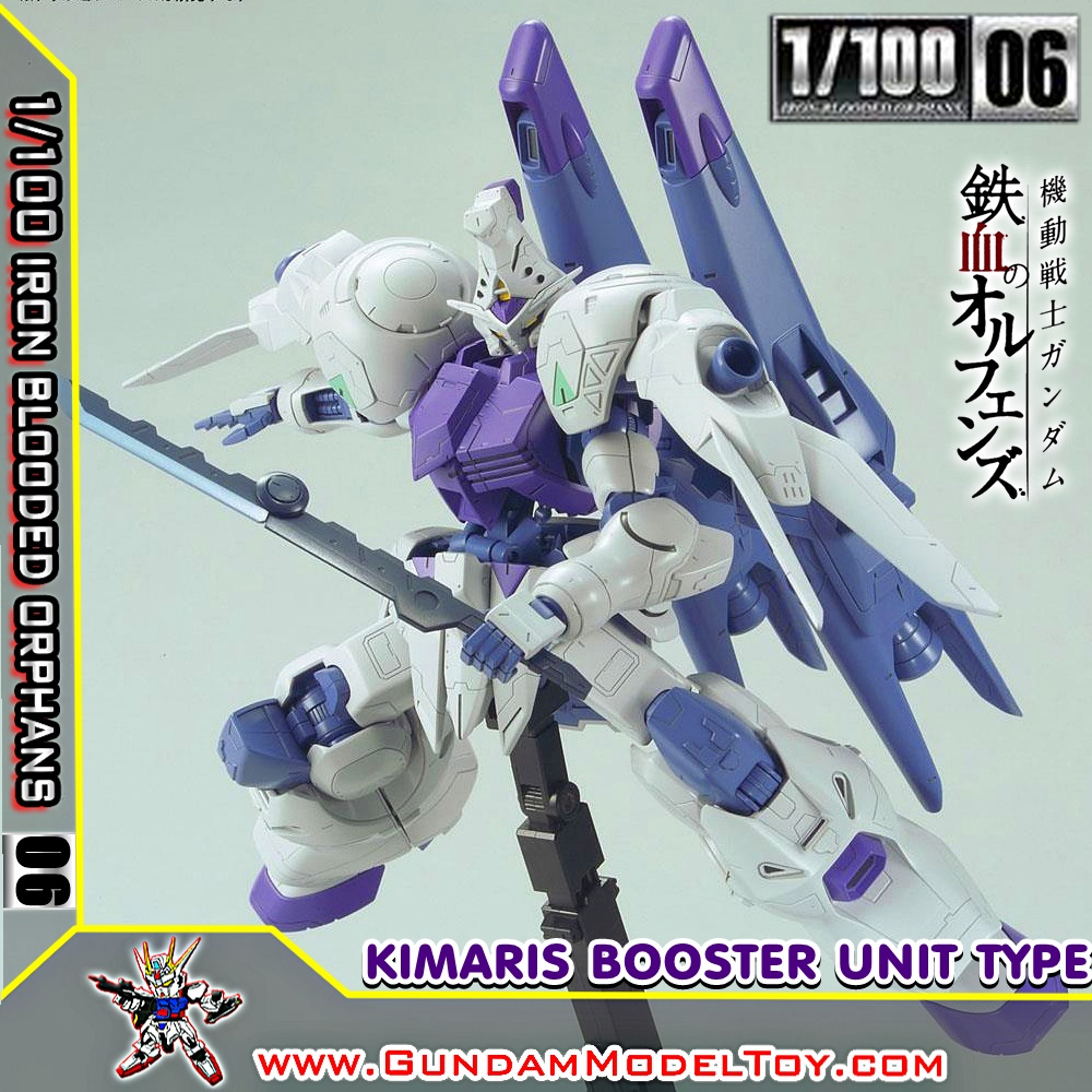 1/100 SCALE MODEL 06 GUNDAM KIMARIS BOOSTER UNIT TYPE