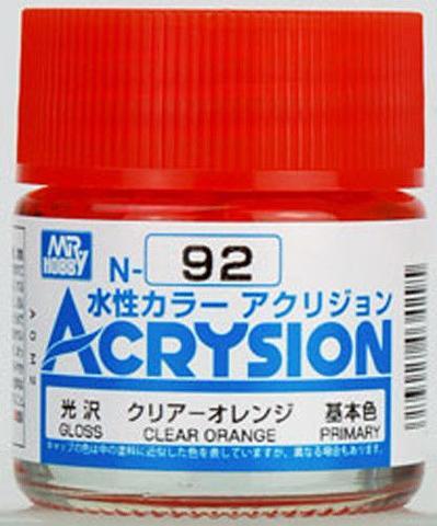 ACRYSION N92 CLEAR ORANGE สีส้มใส