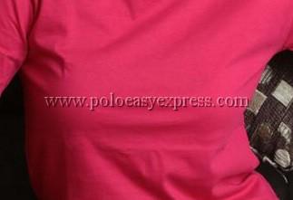 เสื้อยืดเด็ก สีชมพูบานเย็น คอกลม แขนสั้น Size S สำเนา