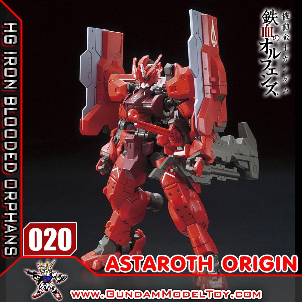HG 1/144 020 GUNDAM ASTAROTH ORIGIN กันดั้ม แอสทารอธ ออริจิน