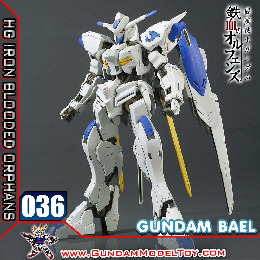 HG 1/144 036 GUNDAM BAEL กันดั้ม บาเอล