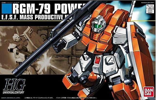 HGUC 1/144 RGM-79 POWERED GM พาวเวอร์ด จีเอ็ม