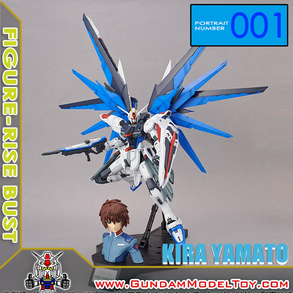 FIGURE-RISE BUST 001 KIRA YAMATO ฟิกเกอร์ไรส์ บัสต์ คิระ ยามาโตะ