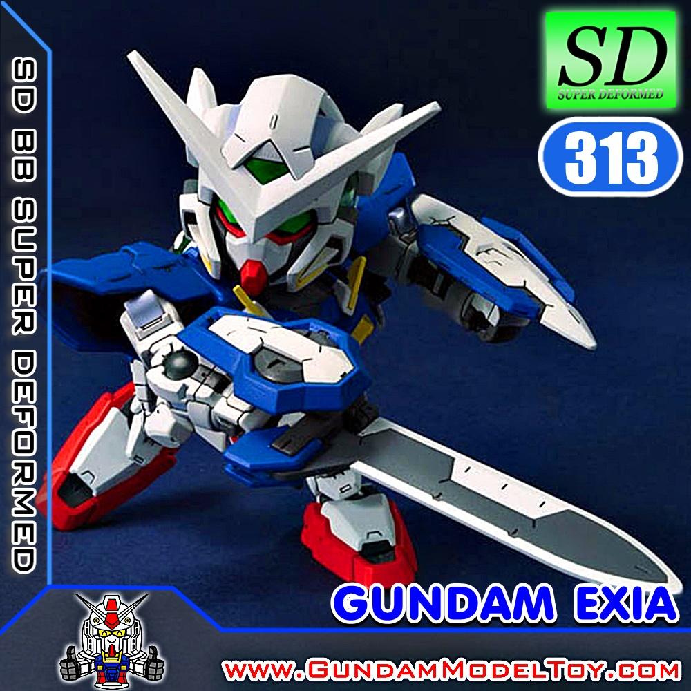 SD BB313 GUNDAM EXIA กันดั้ม เอ็กซ์เซีย