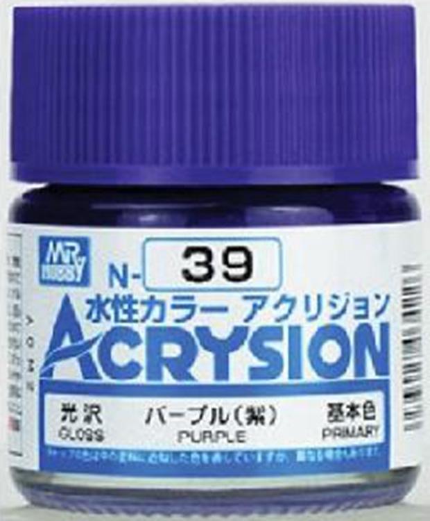 ACRYSION N39 GLOSS PURPLE สีม่วงเงา