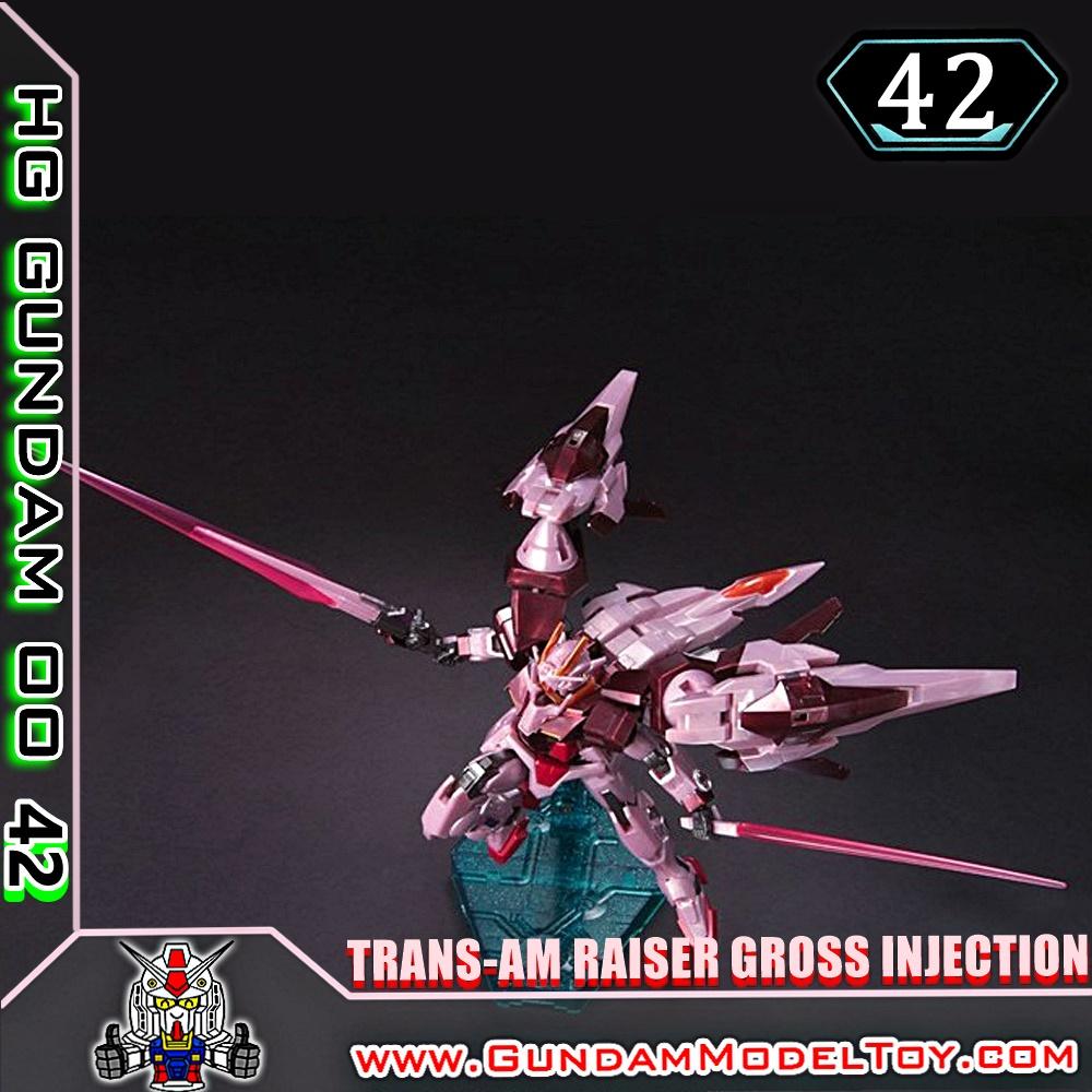 HG00 1/144 TRANS-AM RAISER GROSS INJECTION VER. ทรานส์ แอม ไรเซอร์ กรอส อินเจ็คชั่น เวอร์ชั่น