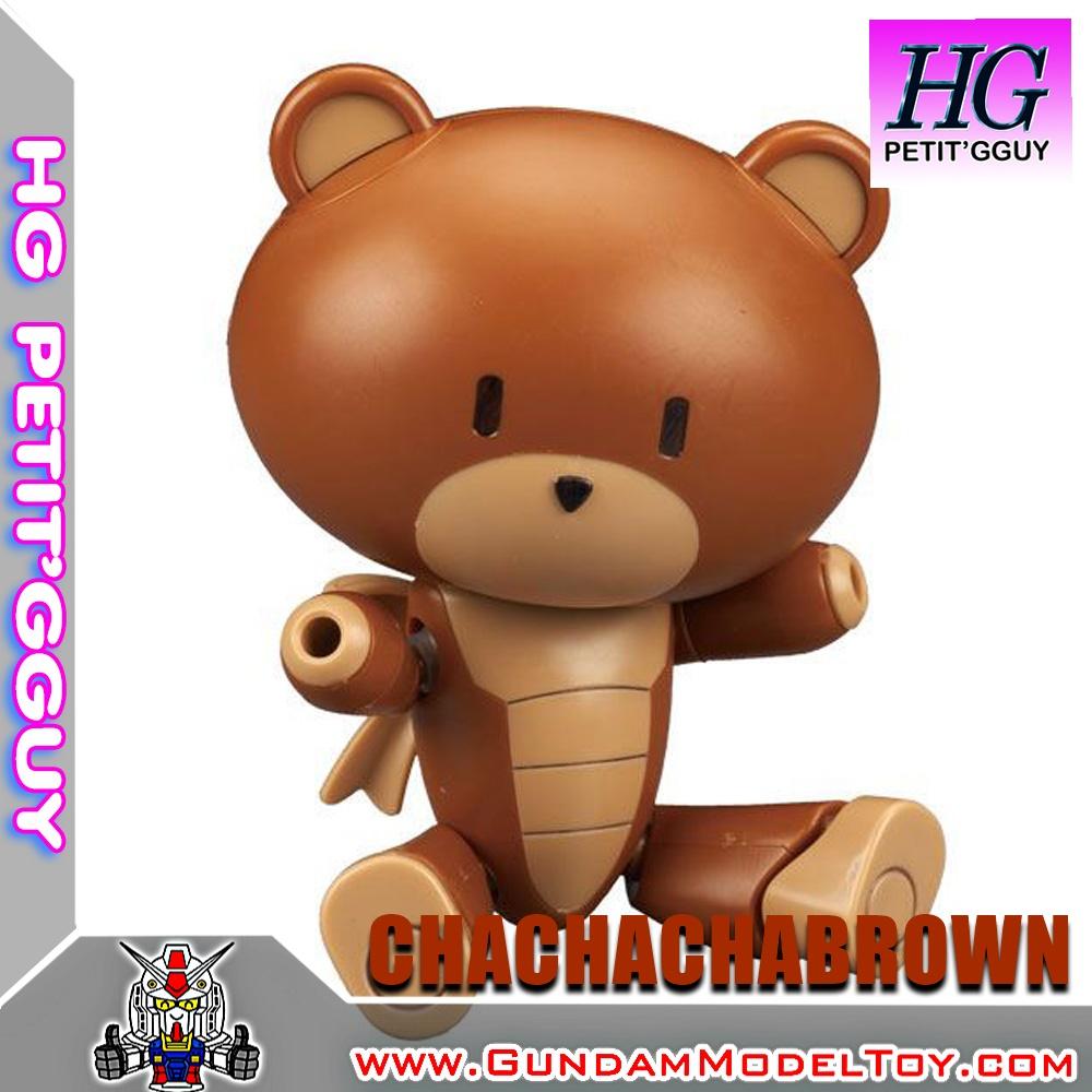 HGPG 1/144 PETIT'GGUY CHACHACHABROWN เพททิท กาย ช่าช่าช่าบราวน์
